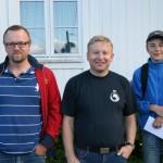 Trond Gabrielsen, Espen Løken og Cornelius Kvendseth